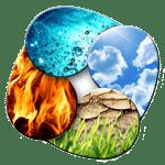 les 4 elements Terre Air Feu Eau
